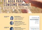 Seminario virtual: El agua para consumo humano: Desafíos de su priorización