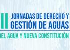 ¡XXIII Jornadas de Derecho y Gestión de Aguas!