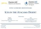Ices in the Atacama Desert